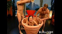 Steamy sexy blow team fuck pornhub video