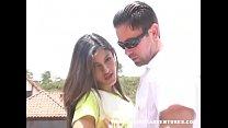 Ash Dawn Hentai ~ Stunning latina teen gets creampied outdoors thumbnail