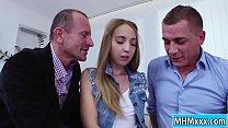 Anya Akulova gets a double penetration