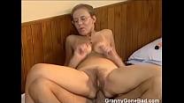 Granny Got Her Hairy Old Ass Anal Fucked Vorschaubild
