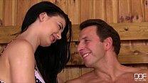 Insatiable Teen Lucy Li rides a fat dick in the Sauna [사우나 sauna]