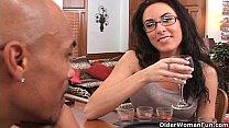 Soccer mom Katrina Isis gets cum shower pornhub video