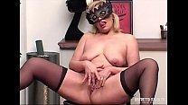 Simona an italian chubby girl masturbates in fr...