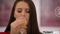 TUSHY Lana Rhoades First Double Penetration