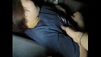 Japanese Amateur BBW Wife(EX girl friend) - CarSex(homemade) thumbnail