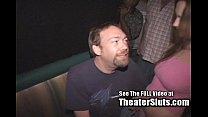 Hot Teen Twat Bukkake In Porn Theater!