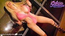 Sabrina Sabrok hot striptease dance