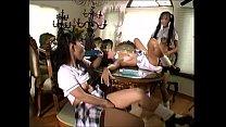 Asian lesbian threesome thumbnail