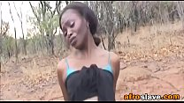 African Slave Gets Pussy Stretched Outdoorsfick...'s Thumb