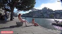 Jeny Smith and Vienna Love nude in public thumbnail