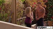 Tushy Curvy Blonde Gets Her Ass Gaped