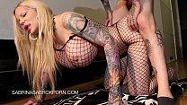 Sabrina Sabrok hot anal fuck and sloppy deepthroat