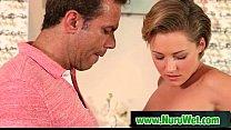 Hot masseuse gives pleasure massage 20