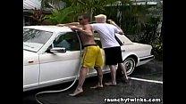 Hot Jocks Car Wash Service Turns To Crazy Gay F... thumb
