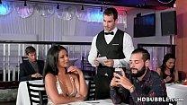 Big ass latina cheats on her boring man - Rose Monroe and Duncan Saint