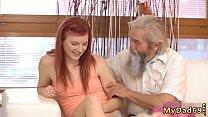 Red head teen huge dick Unexpected practice with an older gentleman