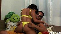 Mulata Safada recebendo amante em casa