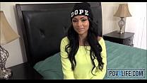 Black Teen Bethany Benz Picked Up Pov