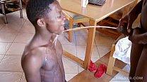 African Twink Raw 3-way pornhub video