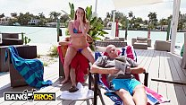 claire evans anal - Bruno Fucks Harley Jade In Front Of Her Grandpa Like A Savage thumbnail