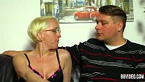 German milf take dicks in threesome