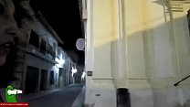 Chantel Fastlane ~ Giving a night walk that turns into sex in public CRI123 thumbnail