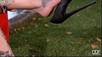 girl sex tattooed dark in high heels: Ariel nastya thumbnail