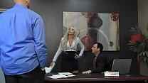 Mean Boss Nina Elle Makes Her Employee Worship Her Ass - 69VClub.Com