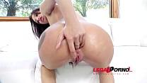 Lola Bulgari brutal 3on1 interracial anal & DP RS209