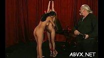 Mature woman extraordinary bondage in nasty xxx scenes video