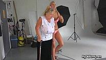 Helping the bbw lesbian seniors
