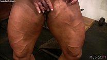 fu... her with plays cross lisa bodybuilder Female