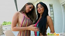 PrimeCups Big boobed girlfriends play with each...