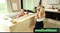 JaySmooth & KaterinaKay - in Nuru sex massage