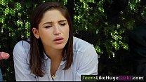 Teen Abella Danger is banged at busstop Thumbnail