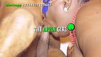 THE APPLE GIRL , model names ANI and kelechi