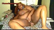 huge black woman