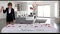 PureMature Valentines day massage fuck with mature Alana Cruise
