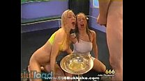 Nasty Sluts Drinking & Swallowing Piss and Spitting it in Each Others Mouth Vorschaubild