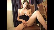 Erika Masturbates on Chair