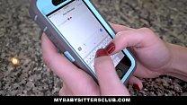 MyBabySittersClub - Sexy Baby Sitter Fucks Client