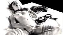 Self bondage & masturbation