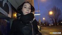 Czech college girl got fucked in a car # Charlotta Johnson