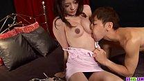 Ibuki enjoys cumon face after a good Asian fuck...