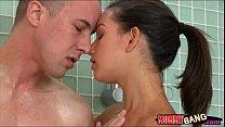 Eva Karera and Shae Summers crazy 3some with hard shaft