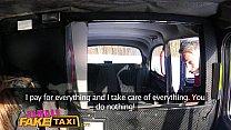Female Fake Taxi Sexy driver sucks and fucks fare to get even thumbnail