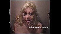 Blonde Amateur  Sucks Many Cocks With Facials s With Facials