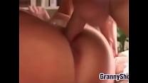 Grandma Wants It Hard And Rough On The Bed Vorschaubild