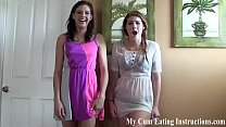 Made to eat cum by your hot tutor CEI porn thumbnail