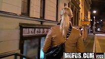 Euro blonde (Tonya) sucks cock for spending mon...
